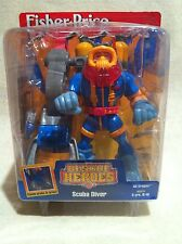 Rescue Heroes Gil Gripper Scube Diver Factory Sealed!