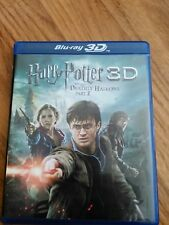 Harry Potter and the Deathly Hallows: Part II  (3D,Blu-ray/DVD, 2011)