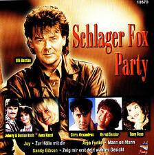 Schlager Fox Party CD 16TRACKS Schlager New & Original Packaging