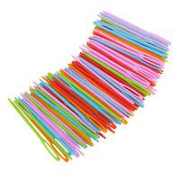 Lot De 100 Pcs Aiguille à Tricoter Durable Pour Artisanat Couture Tricotage