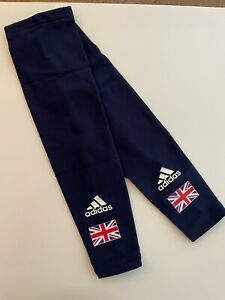 Adidas Team GB British Cycling Arm warmers - Navy with union jack. BNIP Universa