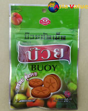 Dry Plum Amazing Thai Fruit Premium Candy Yummy Delicious Toffee Snack BUOY 20g.