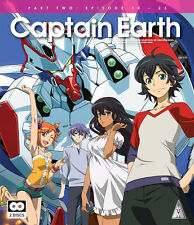 Captain Earth . Collection 2 . Episodes 14-25 . Anime . 2 Blu-ray . NEU . OVP