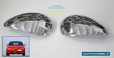 CALOTTE CROMATE ALFA 147 2000 > Specchietti cromati coppia di calotta kit tuning