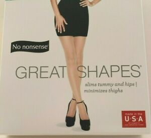 No Nonsense Great Shapes -Shaping Pantyhose New in Package