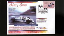 ALAN JONES 1980 F1 WORLD CHAMPION COVER, WILLIAMS 1