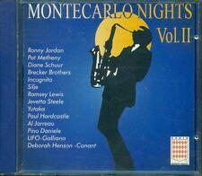 Montecarlo Nights Vol. 2 II Pino Daniele/Pat Metheny/Paul Hardcastle Cd Perfetto