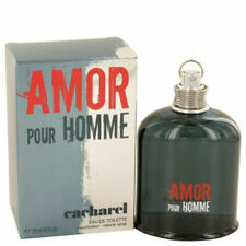 4.2 oz Cacharel Amor pour Homme Eau de toilette for Men 125ml Men RARE