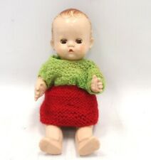 Vintage Pedigree Baby Doll Made In England 25cm Tall - S43