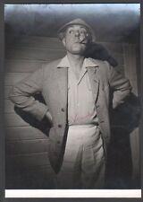 Jacques Tati. Photographie dédicacée. Collection André Vendeuil vers 1953