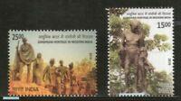 India 2019 Gandhian Heritage in Modern India Stamps set 2v MNH