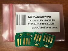 4 Toner Chip for Xerox Workcentre 7120 7125 7220 7225 Refill (1457 - 1460 SOLD)