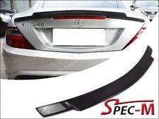 R172 SLK250 SLK350 V Type Carbon Fiber Trunk Lip Spoiler SLK55AMG 2012+ SLK AMG
