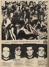 20/10/79PN34 Advert: Ruts Album the Crack & grin & Bare It Tour 15x11