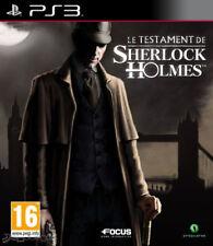 el testamento de sherlock holmes para PS3