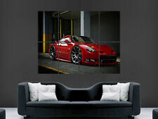 NISSAN 350 Z CAR HUGE LARGE WALL ART POSTER PICTURE PRINT GIANT
