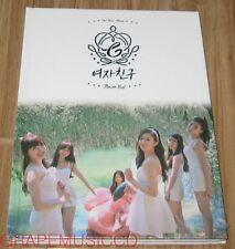 GFRIEND GIRLFRIEND Flower Bud 2ND MINI ALBUM CD + PHOTOCARD + POSTER IN TUBE NEW