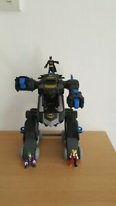 Imaginext Batman remote control transforming batbot with figures - no remote