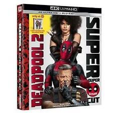 Deadpool 2 Super Duper Cut 4k Ultra HD Blu Ray Digital Target Book
