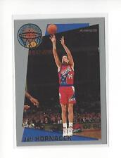1992-93 Fleer Sharpshooters #3 Jeff Hornacek 76ers