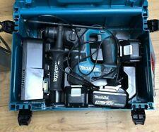 MAKITA DHR171Z 18V LXT SDS PLUS BRUSHLESS ROTARY HAMMER 3x Batteries Kit