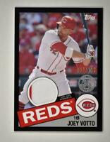 2020 Topps Series 2 1985 Baseball Relic Black #85TR-JV Joey Votto /199