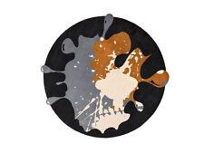 wash+dry Special Shape Decor | Circle Blob black 150 cm Ø Rund by Kleentex