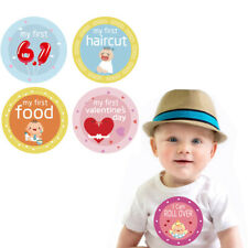 18pcs Baby Photography Props Infant Monthly Sicker Milestone Sticker Card Reuse