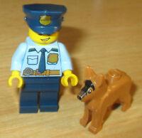 LEGO® City Limited Edition! Polizist mit Motorrad /& Goldbaren Nr.08//18
