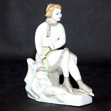 Beautiful Artn Deco Russian Probably Moscow Porcelain Figure 1930