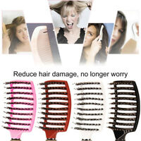 Colors Styling Curly Scalp Massage Tools Wet Salon Hair Comb Hairdressing Brush