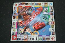DISNEY Pixar Edition MONOPOLY Replacement GAME BOARD (ONLY) 2007