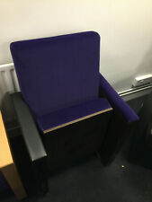 Home cinema seating - Purple Chair with table