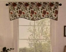Waverly Felicite Curtain Valance Jacobean Floral Pattern Colorful