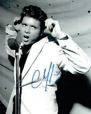 Cliff RICHARD SIGNED Autograph 10x8 Photo British Music LEGEND AFTAL COA