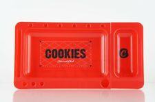 Cookies Tobacco Rolling Tray 2.0 w/ Slide-out Red