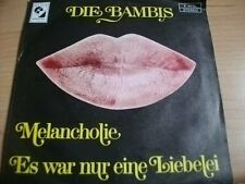"Die Bambis - Melancholie - 7"" Elite Special"