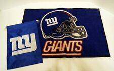 New York NY Giants Door Mat/Rug & Window Flag