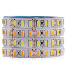 Tira de LED 5730 120 Leds/m Alta Brillante Luz Flexible 5630 blanco frío 12 V 1 M 2 M 5 M