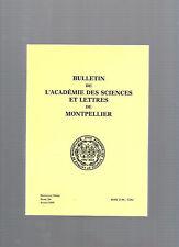 Bulletin Académie Sciences et Lettres de Montpellier Tome 26 Année 1995  E29@@