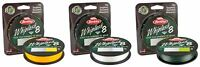 Berkley New Whiplash 8 Carrier Green / Crystal / Yellow Braided Fishing Line