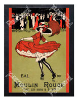 Historic Moulin Rouge Nightclub 1900s Advertising Postcard 6