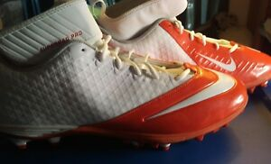 NEW Nike Lunarlon Superbad Pro size 18  Red/White Football Cleats free shipping