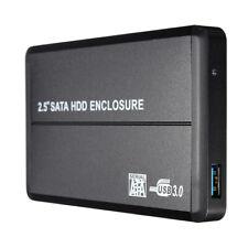 "USB 3.0 SATA 2.5""Hard Disk Drive D External Enclosure Case Box For Laptop  Q4X9"
