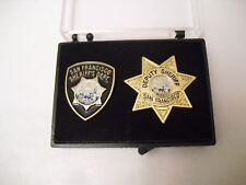 San Francisco Sheriff Police Department SFPD PIN Set