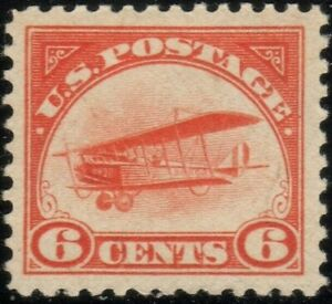 US Scott C1 Airmail XF/S Mint Never Hinged/MNH QUALITY UNITED STATES STAMPS