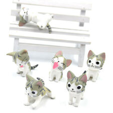 "Süß Anime Cosplay Chi's Sweet Home""Cat Katze Figur Wohnung Auto Dekoration 6in1"