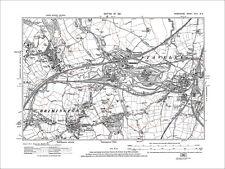 Brimington, New Whittington, Staveley, Old Map Derbyshire 1921: 18-SE