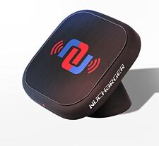 Nucharger Snap200 Sticky Car Cellphone Holder 360° Rotatable Wireless Charger