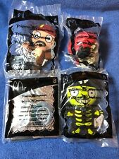 4 2006 MCDONALD's HAPPY MEAL PIRATES OF THE CARIBBEAN TOYS